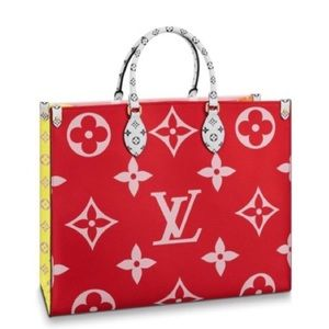 Louis Vuitton On the Go Bag red pink 🌹🌸 M444569